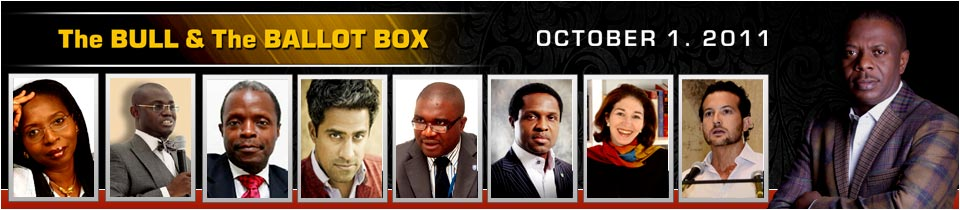 The Bull & The Ballot Box - Meet the Speakers
